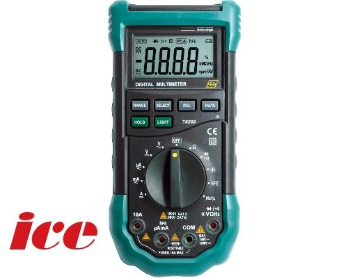 CABAC TopTronic T8268 AUTO Ranging Digital Multimeter DMM 3-3/4 digits - T8268