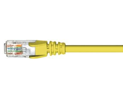 Patch Lead 0.5m Hypertec Cat5e Yellow - HCAT5EYL0.5